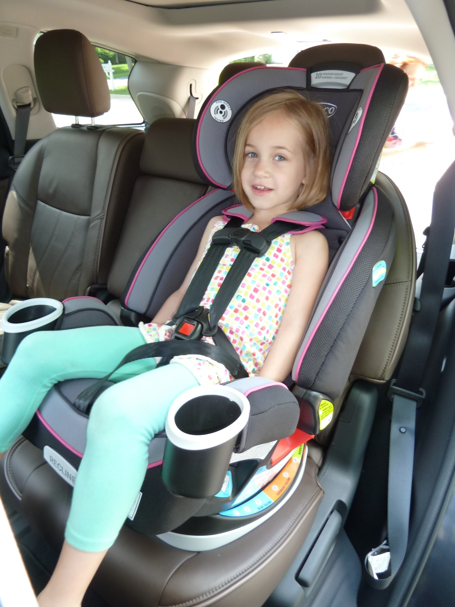 Graco Car Seat Strap Installation