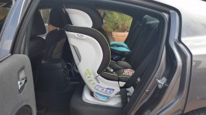 Britax Blvd CT - max upright position