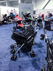 Baby Jogger Vue Double side