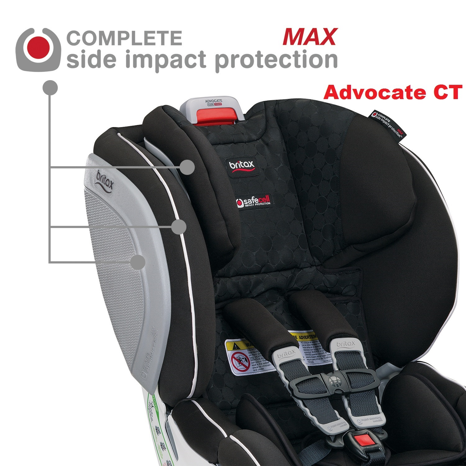 Britax Infant Car Seat Strap Covers