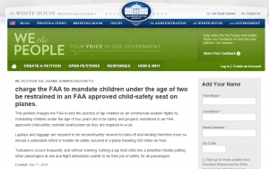 FAA Petition - Jan Brown 2014