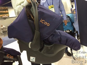 Hauck icoo rear-facing only