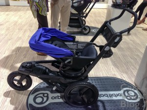 Orbit Baby O2 jogger stroller rf reclined