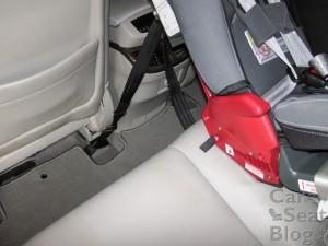 RF Rainier tether in Acura MDX
