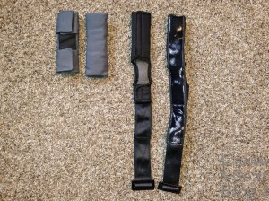 Rainier harness pads comparison
