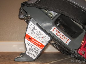Rainier rf recline foot