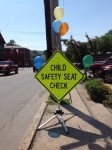 Carseat Check Road Sign