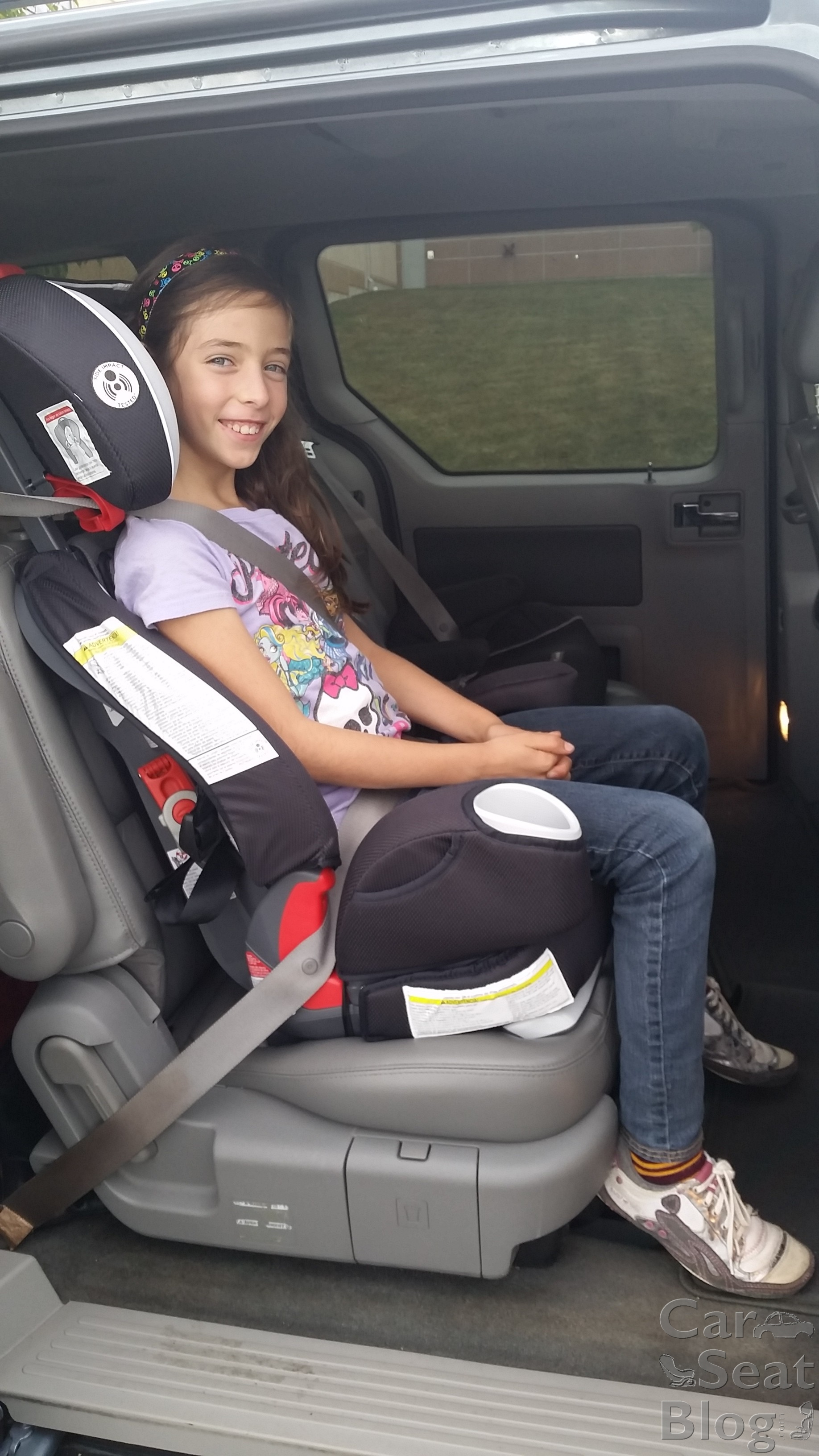 How Big Kids Not Car Seat