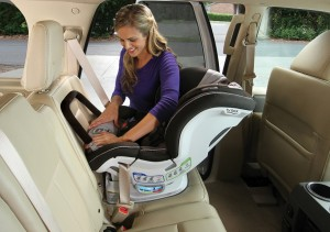 Britax Boulevard CT with ARB - lifestyle