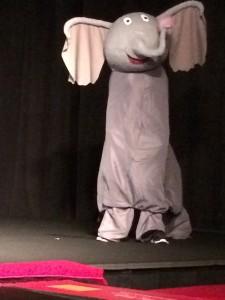 horton on stage