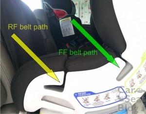 RF FF Belt path image