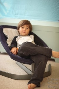 Don't confuse the mistake the 4 year old attitude face…this seat makes a great preschool chill spot.