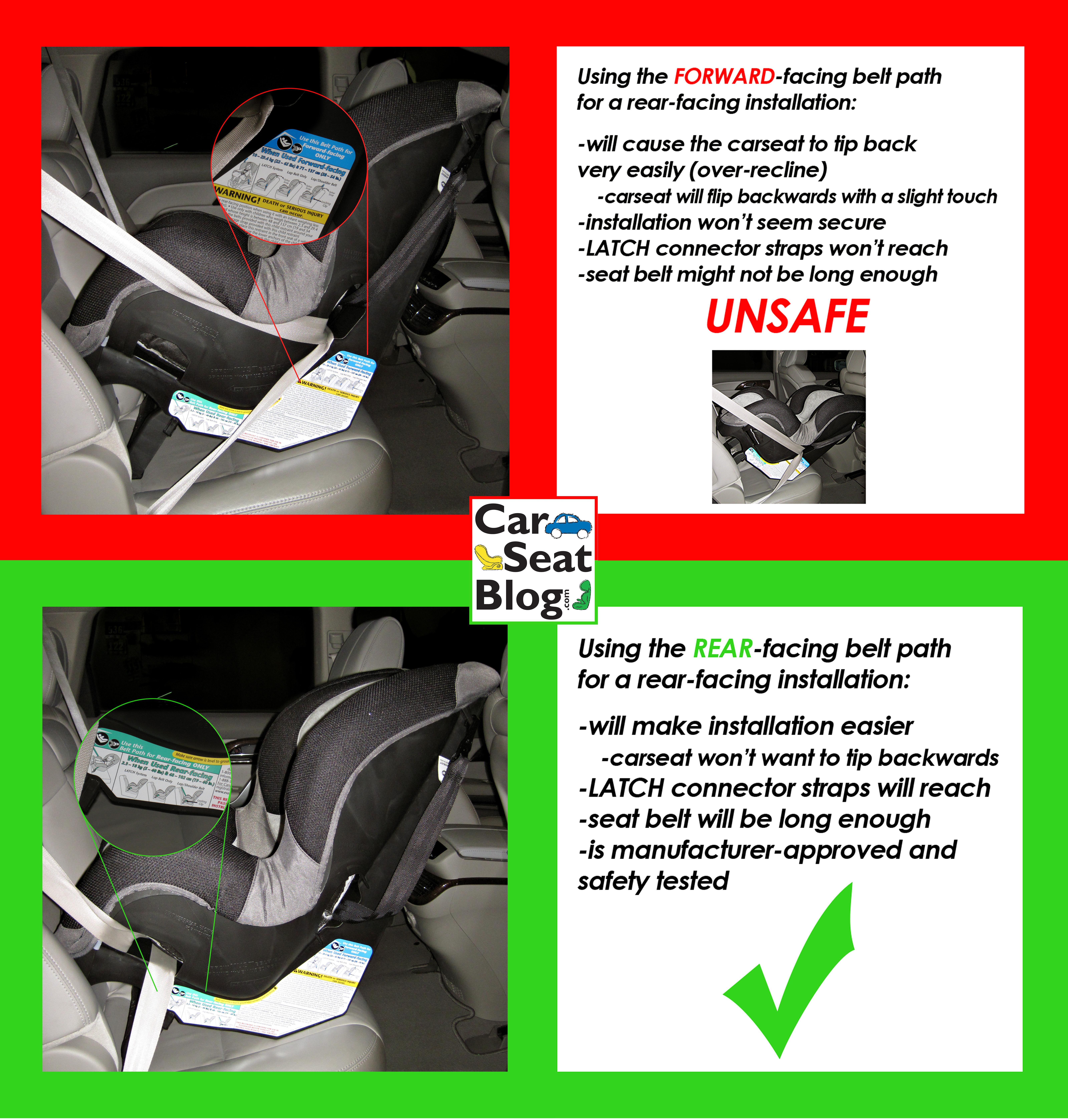 Car Seats Installed Wrong