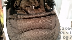 Chicco Bravo stroller - Ombra fashion closeup