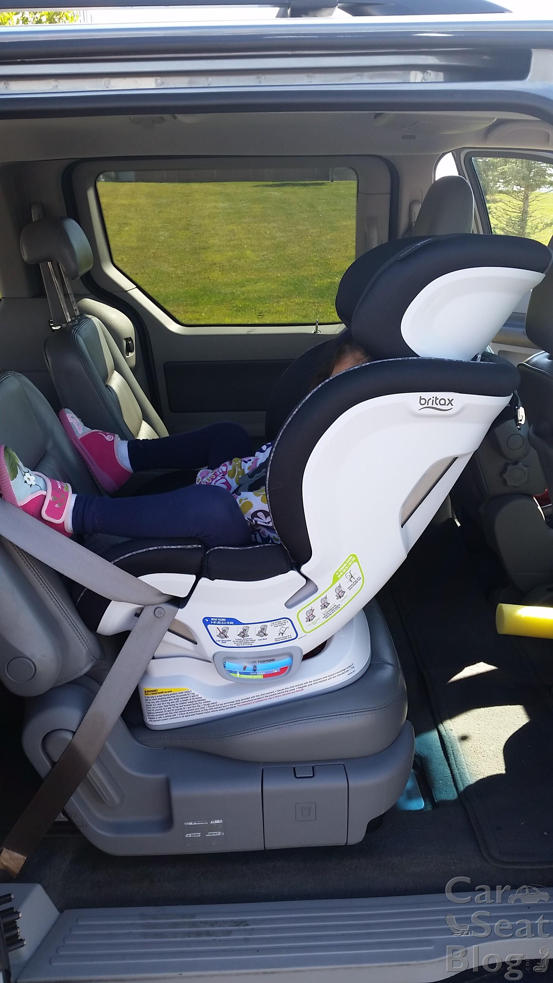 Britax Convertible Car Seat Forward Facing Installation ...