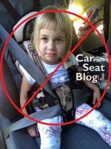 Illegal Chinese Car Seat