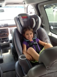 Graco Mysize  Convertible Car Seat With Rapid Remove Installation