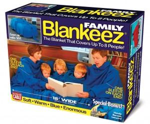 Prank gift box - family blankeez