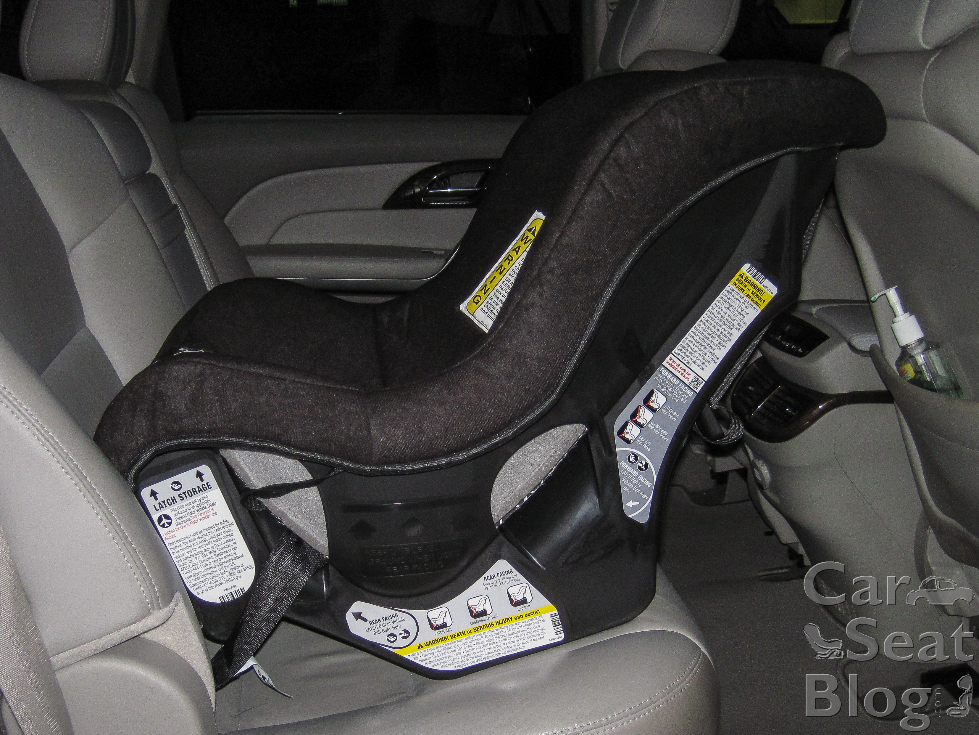 How To Install Evenflo Tribute Car Seat Rear Facing