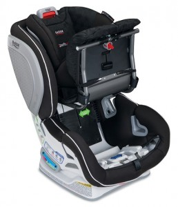 Britax Advocate CT - open CT compartment stock