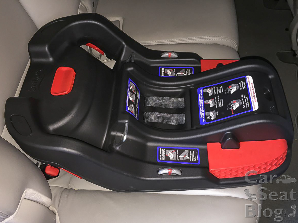 Ford Fusion Infant Car Seat Installation