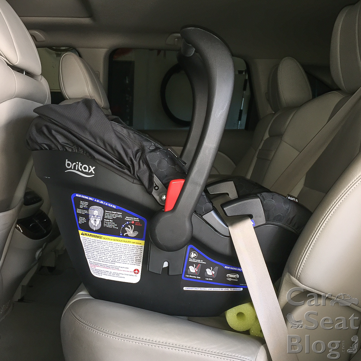 How To Strap In A Car Seat Without A Base