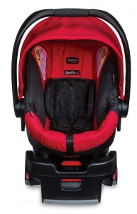 Britax B-Safe 35 - red center