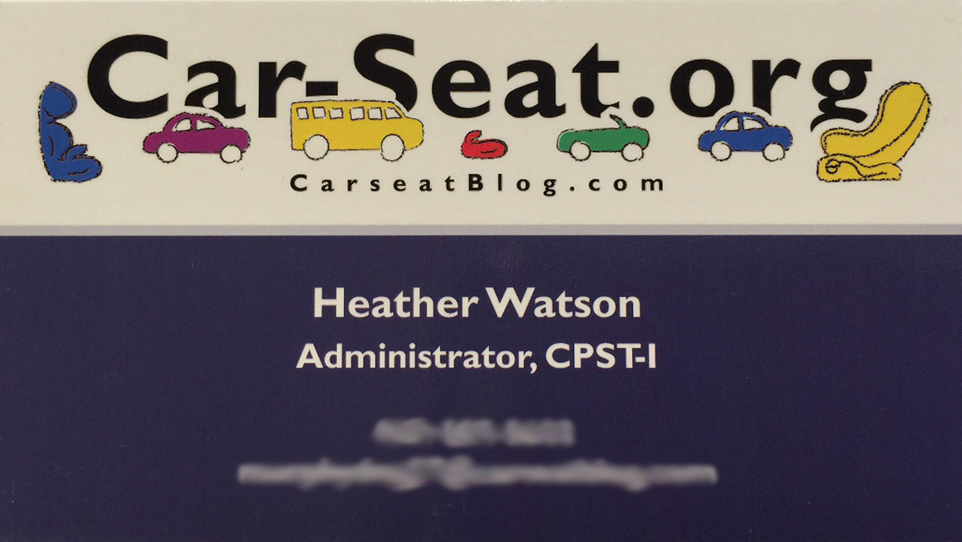 Carseatblog the most trusted source for car seat reviews ratings its hw business card colourmoves
