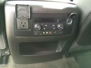 suburban back seat charging
