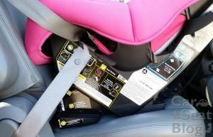 Maxi-Cosi Pria 85 - RF seatbelt closeup