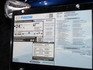 Mazda5 sticker