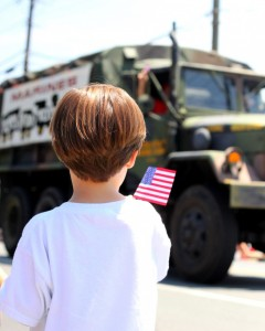 Teach your child to honor and respect those who have made and continue to make their world safer.