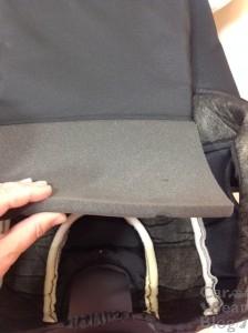 Chicco KidFit Booster - comfort foam
