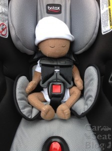 Britax B-Safe 35 Elite - preemie doll