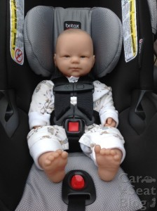 Britax B-Safe 35 Elite - newborn doll