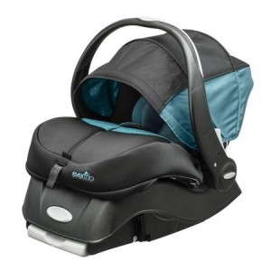 Evenflo Sensorsafe Embrace - boot and canopy
