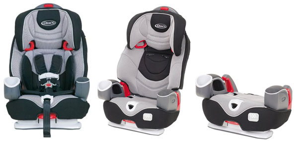 Graco Nautilus  In  Car Seat Recline Instructions