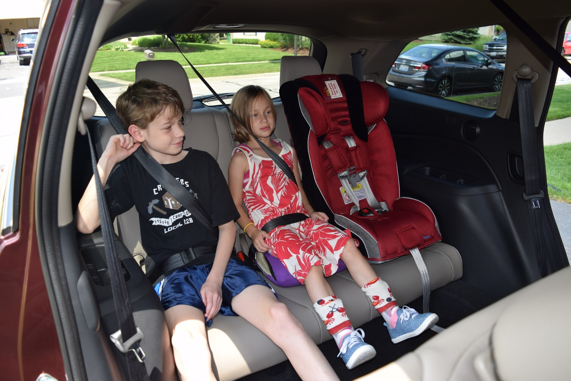 Best Location For Two Car Seats