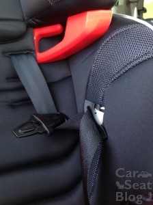 Evenflo Transitions - Buckle Pockets close up