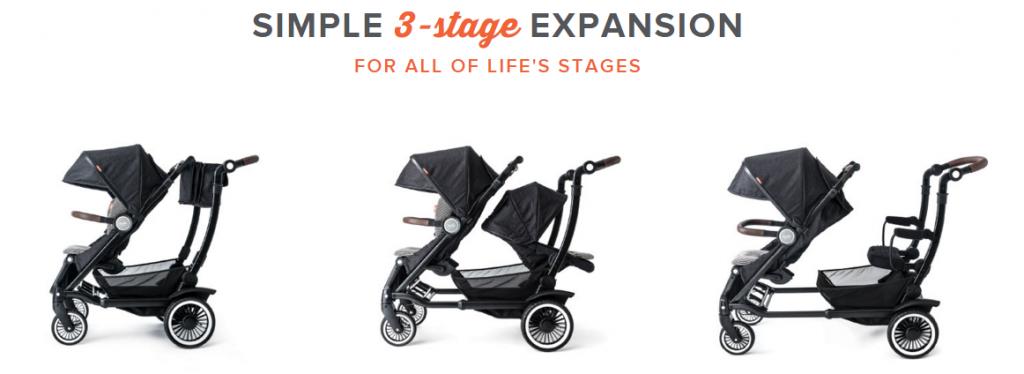 Entourage - 3 stages stock