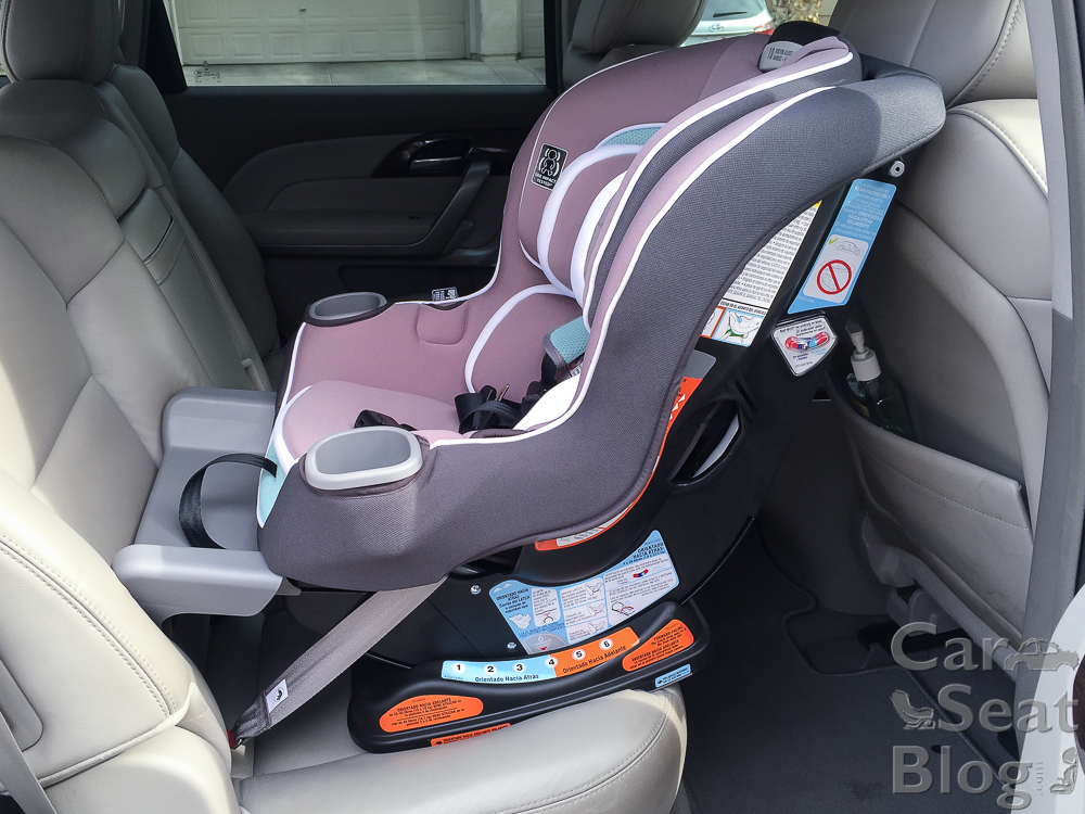 With The Extension Panel Fully Extended Its Most Legroom Of Any Convertible Carseat On Market