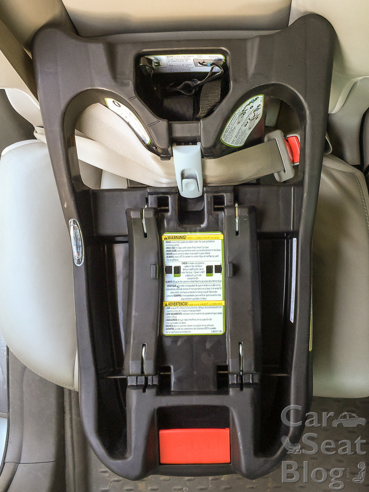Urbini Petal Seatbelt Install