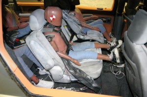 Transport Canada - Integrated harness and booster NCAP test