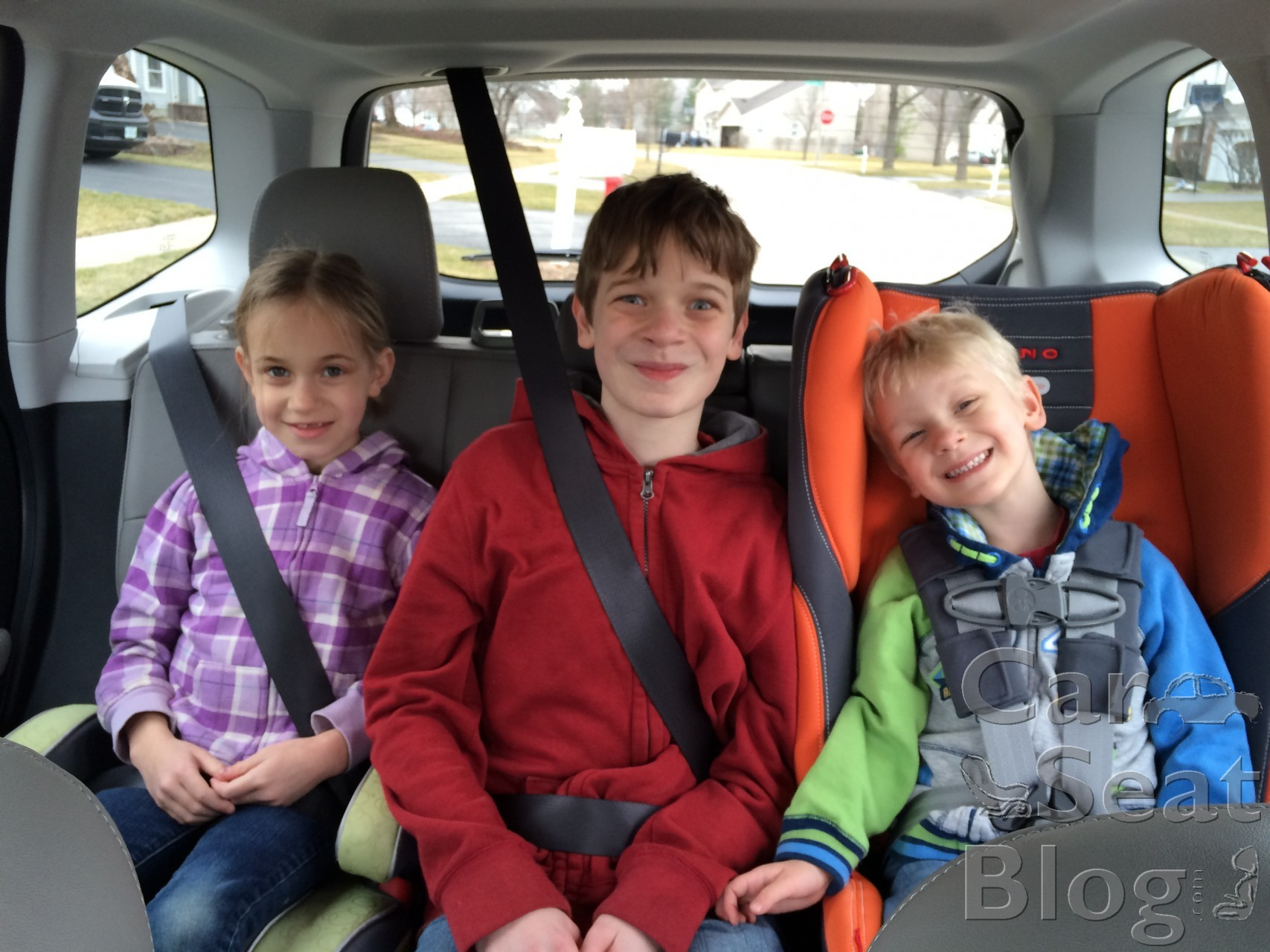 Stage  Car Seats For Three Child In Backseat