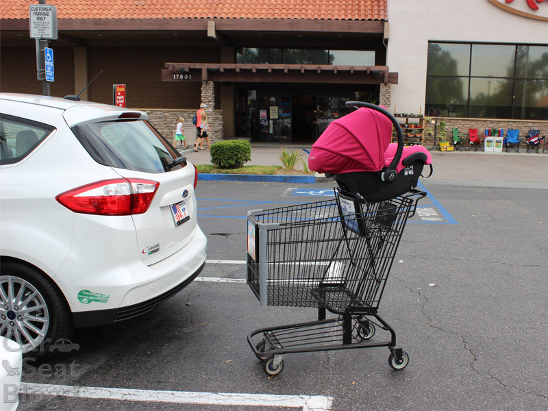 Mythbusters It Is Safe To Place Your Infant Seat On The Top Portion Of A Shopping Cart