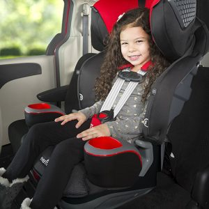 Evenflo safemax combination - stock pic with child