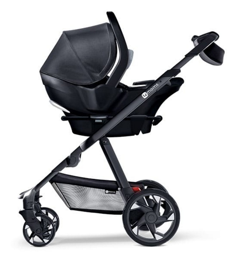 The 4moms Infant Car Seat Is Available In Grey And Black For 499