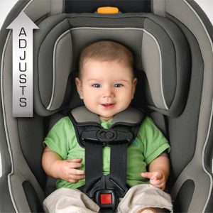 Chicco NextFit - stock with baby