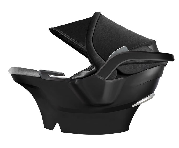 4moms Adjustable Headrest Harness Open Side View