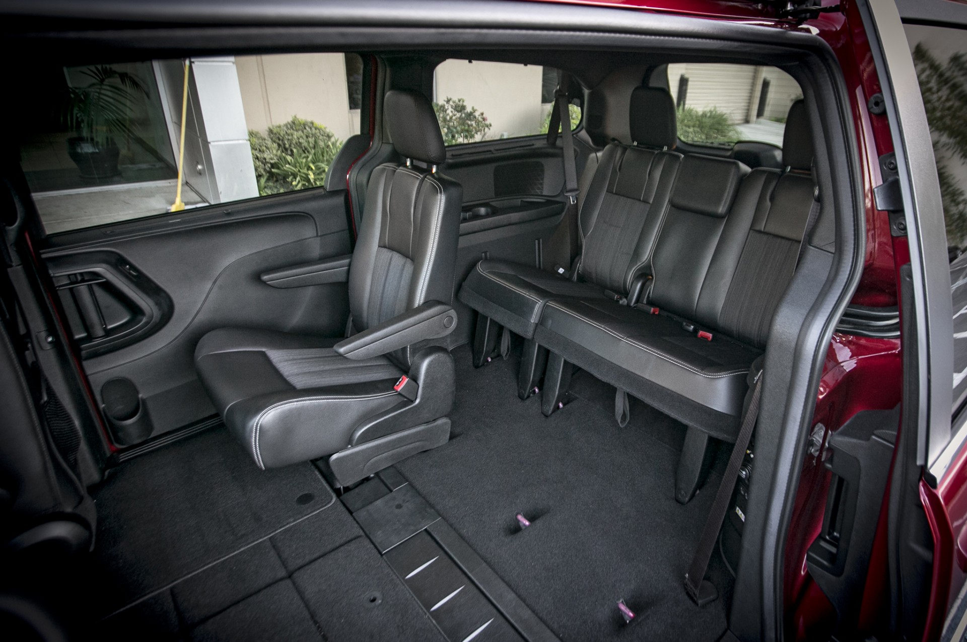 2017 Chrysler Town And Country Rear Interior View